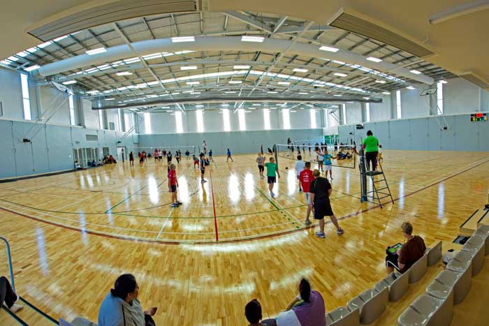 International sports surfaces for International decor surfaces