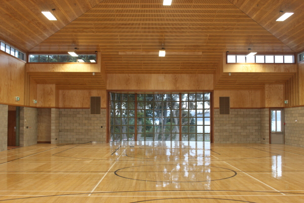 Indoor Basketball Court Installation